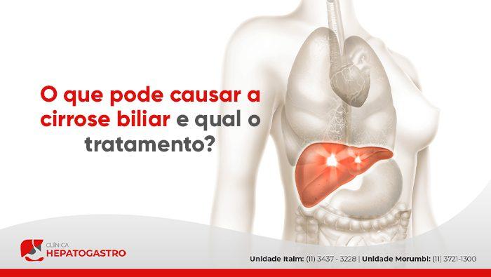 A imagem mostra uma ilustração dos órgãos do corpo humano com o fígado em destaque.